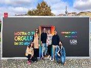 Fora do armário: ILGA Portugal inaugura estrutura outdoor com MOP e FCB
