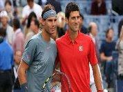 Os favoritos Nadal e Djokovic em Roland Garros
