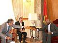 Serguei Lavrov terminou sua visita a Angola
