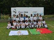 Torneio de futebol infantil organizado pela Fundação o Real Madrid