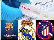 Real Madri e Barcelona, encontro na clínica antes de jogar futebol