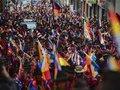Evo Morales saúda a resistência dos povos indígenas