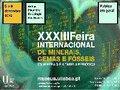 XXXIII Feira Internacional de Minerais, Gemas e Fósseis
