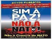Sim à Paz! Não à NATO!