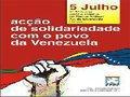Lisboa: Acção de solidariedade com o povo da Venezuela