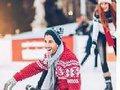Resort de Natal UBBO recebe Pai Natal na pista de gelo