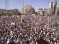 Manifestações de apoio ao governo sírio na cidade de Alepo