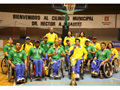 Sulamericano de Basquete em Montevidéu – Cadeira de Rodas
