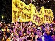 Folia e política: Banda agita multidão com  Fora Temer  e pode ser expulsa do Carnaval
