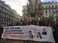Manifestações exigiram libertação imediata de Ahed Tamimi