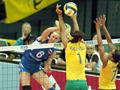 Brasil vence Rússia no Mundial de Vôlei depois de muitos esforços