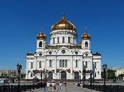 Presidente de Cuba visita catedral de Cristo El Salvador em Moscou