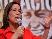 Socialistas venezuelanos continuam campanha contra a violência