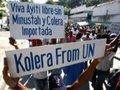 Estudo responsabiliza ONU por epidemia de cólera no Haiti