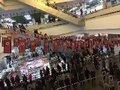 Pyongyaneses lotam feiras de ano novo, apesar de nevadas