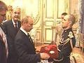 Chirac, Putin e Merkel iniciam o encontro na França