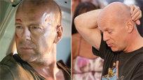 """A longa e bem sucedida carreira de Bruce Willis pode ser resumida numa frase que ele gosta de repetir sempre que pode: """"Existem basicamente quatro histórias que eles podem escrever sobre você. Um: Você surge em cena. Dois: Você chega ao topo. Três: Você cai. E quatro: Você volta .Fotos Splash/All Over Press"""