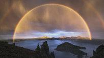 Existem vários tipos de arco-íris incomuns, alguns muito mais belos que o tipo mais frequente.  Fotos : Fotodom.ru/Rex Features