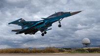 A base aérea russa de Hmeymim é situada na província de Latakia, no noroeste da Síria.É o centro de estacionamento dos aviões russos que combatem os grupos terroristas Daesh (também conhecido como  Estado Islâmico ) e Frente al-Nusra.  A base pode lidar com aviões de transporte Antonov An-124 e Ilyushin Il-76  e pode acomodar mais de 50 aviões militares, incluindo Su-24s, Su-25  Su-34s e Su-35S. Fotos  Pravda. Ru