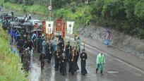 Procissão ortodoxa pela paz na Ucrânia