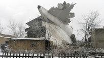 Boeing 747 caiu sobre casas em Quirguistão